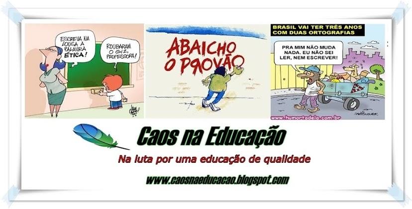 MUNDO DA EDUCAÇÃO - discutindo e avaliando nossa educação