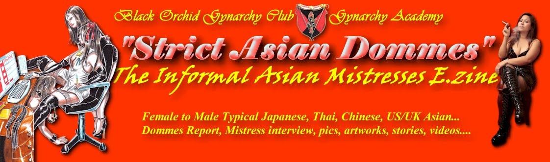 Strict Asian Dommes