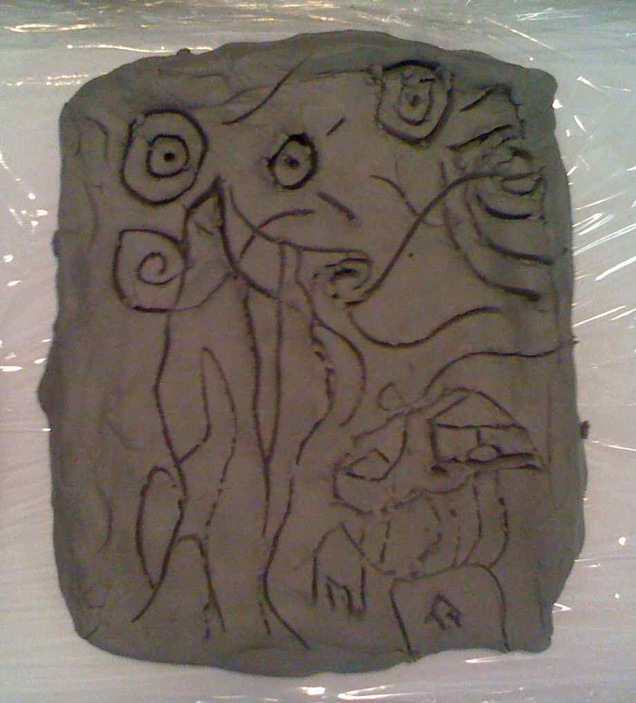how to make clay relief sculpture
