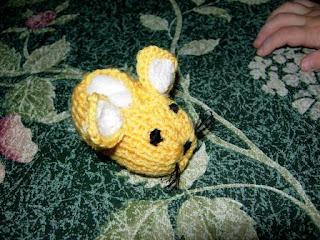 scarpine topo neonato maglia pattern spiegazioni schema