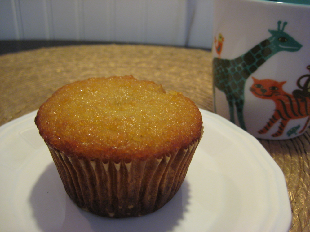 The Almond Flower: Gluten Free Orange Almond Muffins