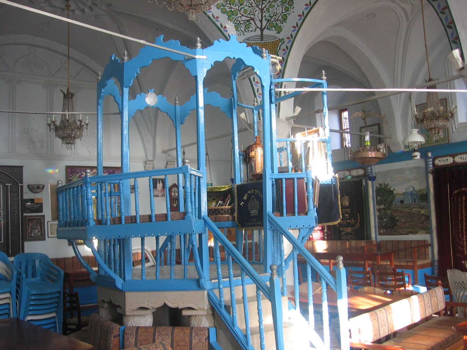isramom klezmer music in the abuhav synagogue in tzfat