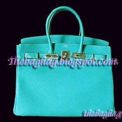 hermes birkin bag 30cm fresh turquoise togo palladium hardware