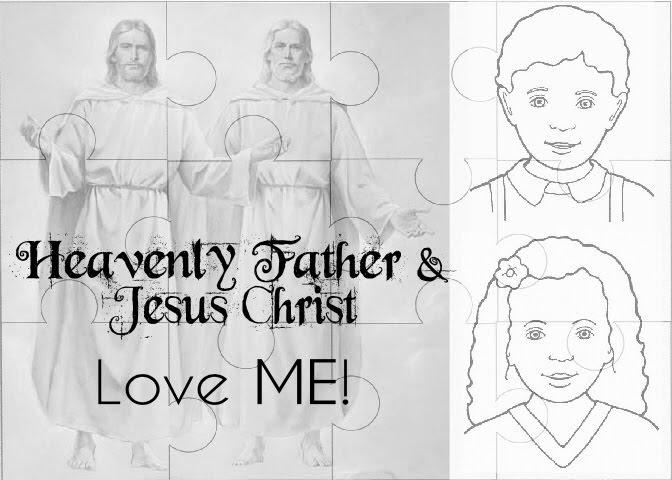 Nurture Mama FHE Heavenly Father And Jesus Christ Love Me