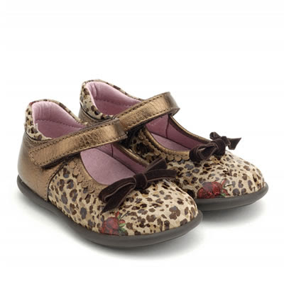 Zapatos Niña Merceditas Hispanitas CHild Leopardo