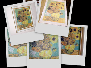 Girassóis - Vincent van Gogh, por Edidene