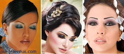 A faire en décembre... 03+idees+maquillage+mariage+oriental