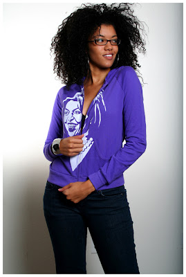 Michelle Obama Unkommon Kolor Hoodie