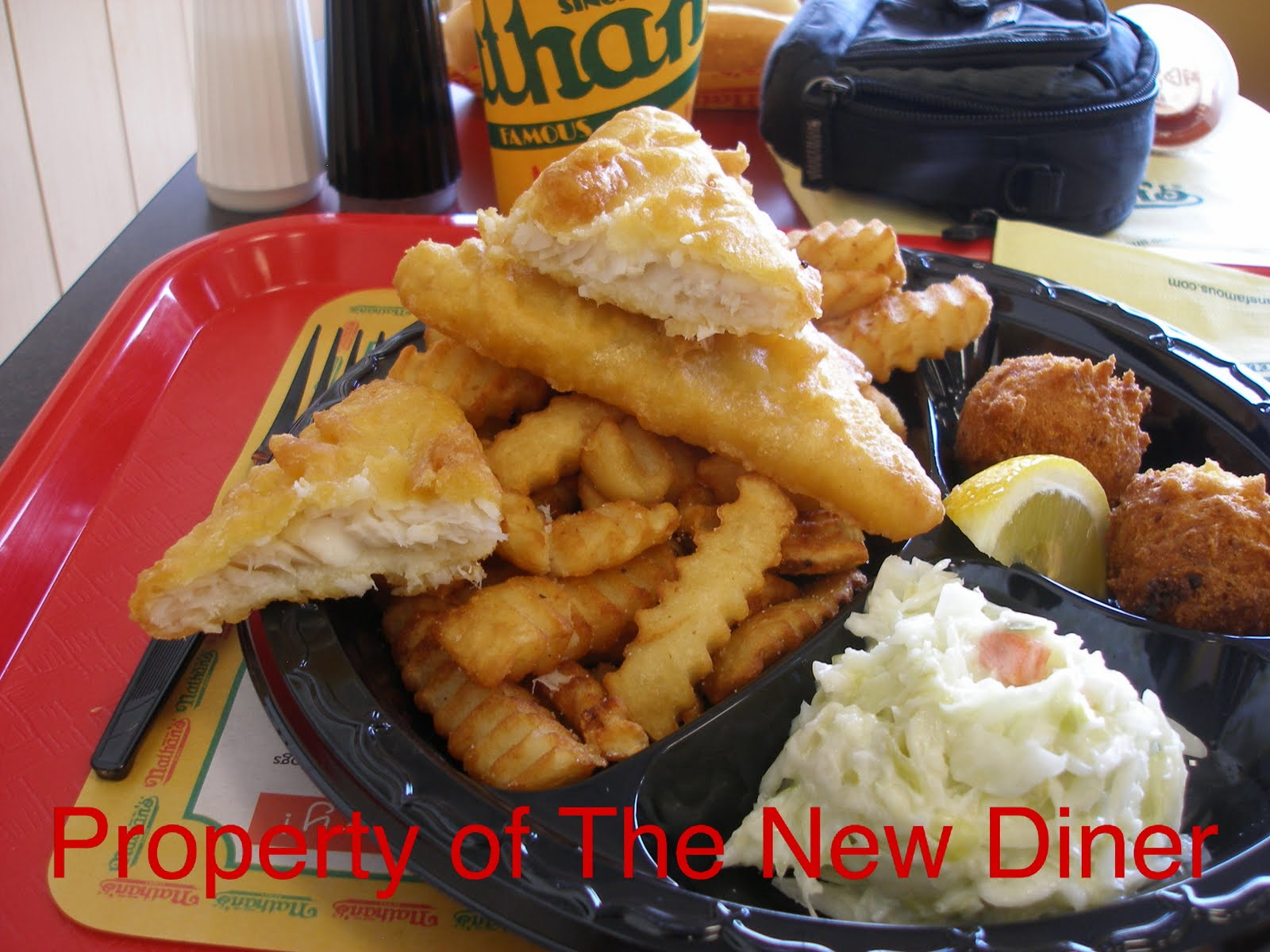 The new diner arthur treacher 39 s nathan 39 s famous hot dogs for Arthur treachers fish and chips