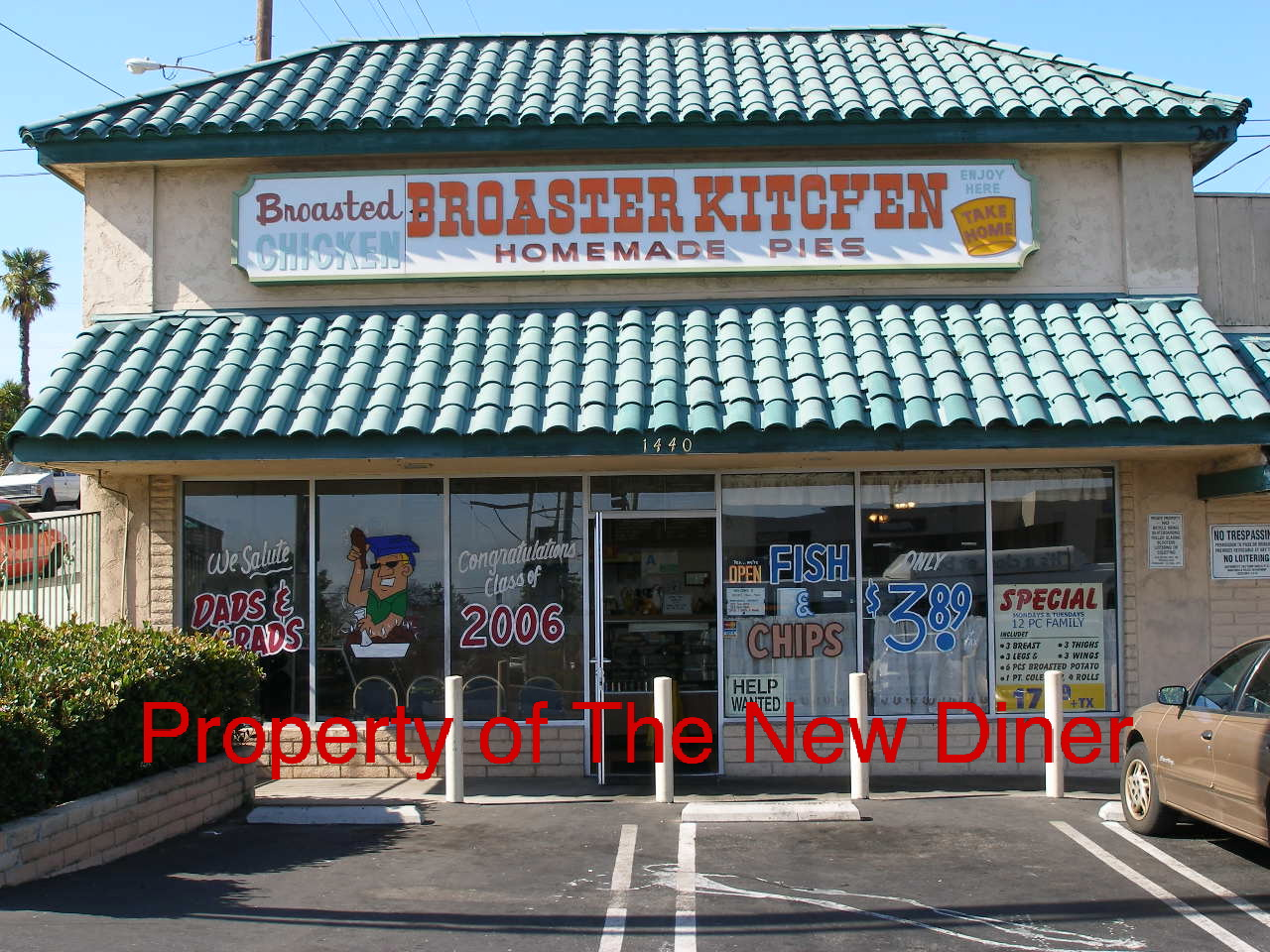 The New Diner: Broaster Kitchen-Updated Review