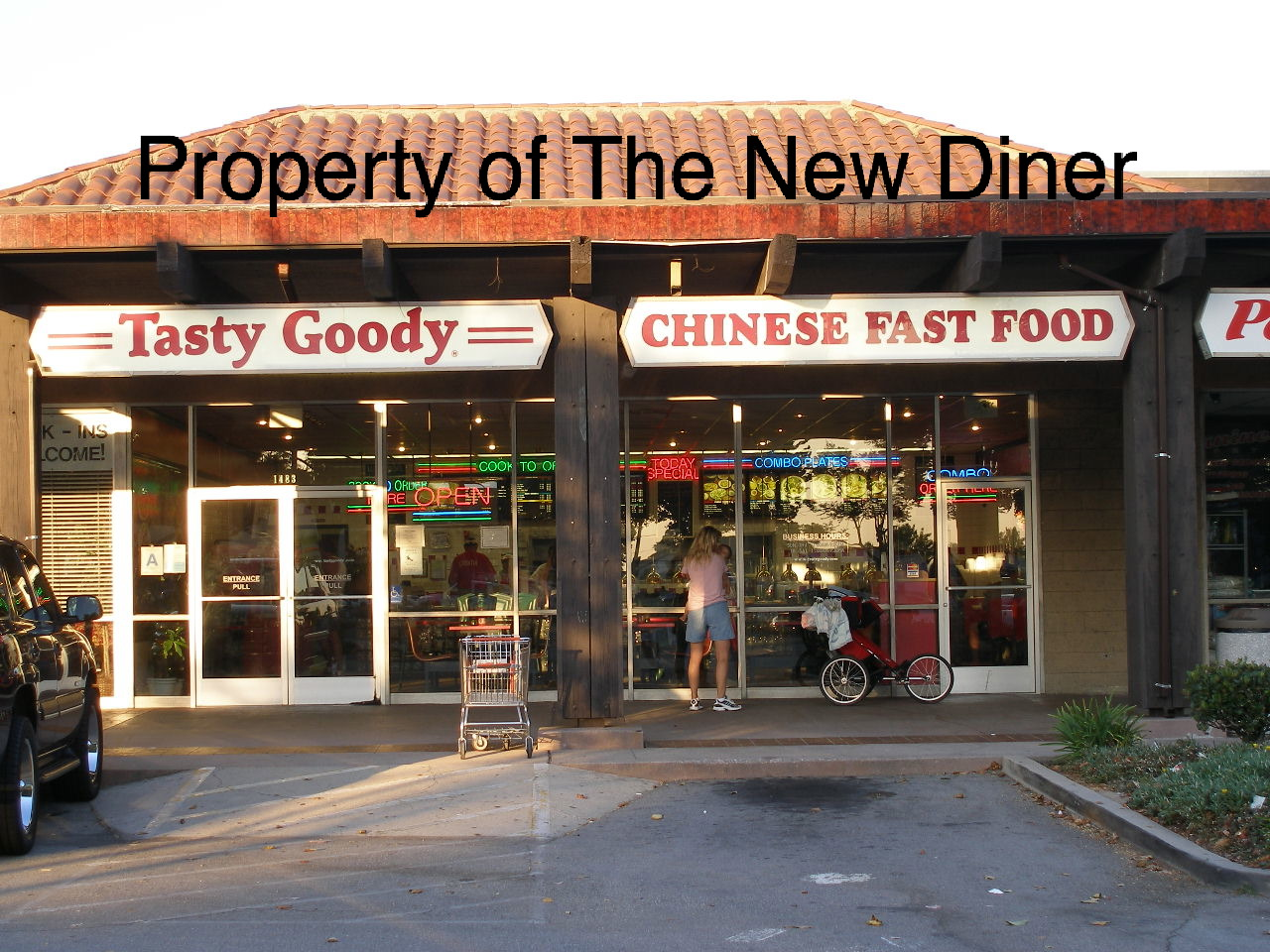 The New Diner: Tasty Goody