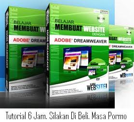 Belajar Adobe Dreamweaver, Tutorial CD Dreamweafer, Membuat Website dengan Mudah, Teknik Membuat Bloger