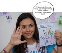 Diana Danielle UNICEF Say No to Child Abuse