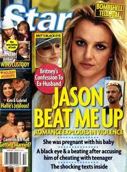 Jason Trawick beat up Britney Spears and cheated her. The pregnant Britney Spears told reporters that she was assaulted by Jason Trawick, Britney Spears's boyfriend