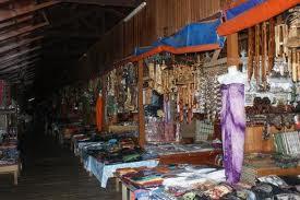 Pekan Nabalu handicrafts and souvenir shops