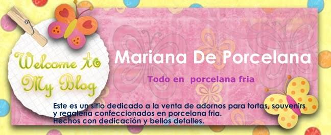 Mariana de Porcelana . Souvenir, adornos y Regaleria