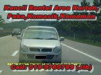 Kancil untuk di Sewa di Kerteh,Paka,Kemasik(TATI) & Kemaman, Terengganu