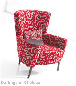 Funky fabrix may 2009 for Funky fabric dining chairs