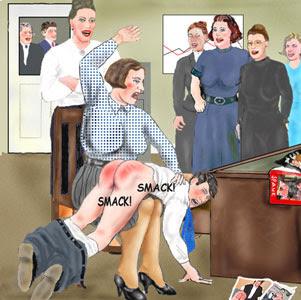 spanking discipline boy