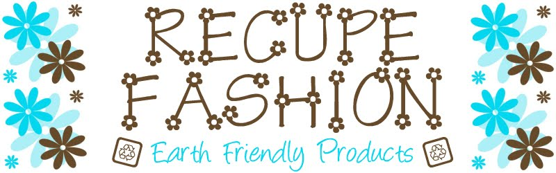 Recupe Fashion offers handmade eye pillows, tea wallets, computer jewelry, spa bath sets, and more!