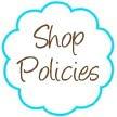 Shop Policies