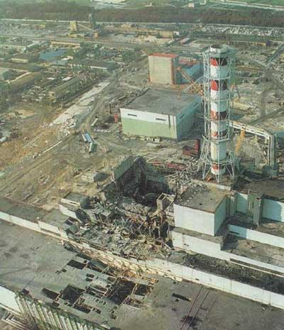 Chernobyl. In 1986, a nuclear