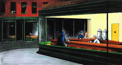 nighthawks hopper batman