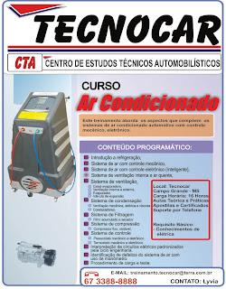 CURSO DE AR CONDICIONADO AUTOMOTIVO - EM CAMPO GRANDE MS