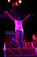 Symbolism: Jesus Christ I give you my life - photo by Kathryn Callard