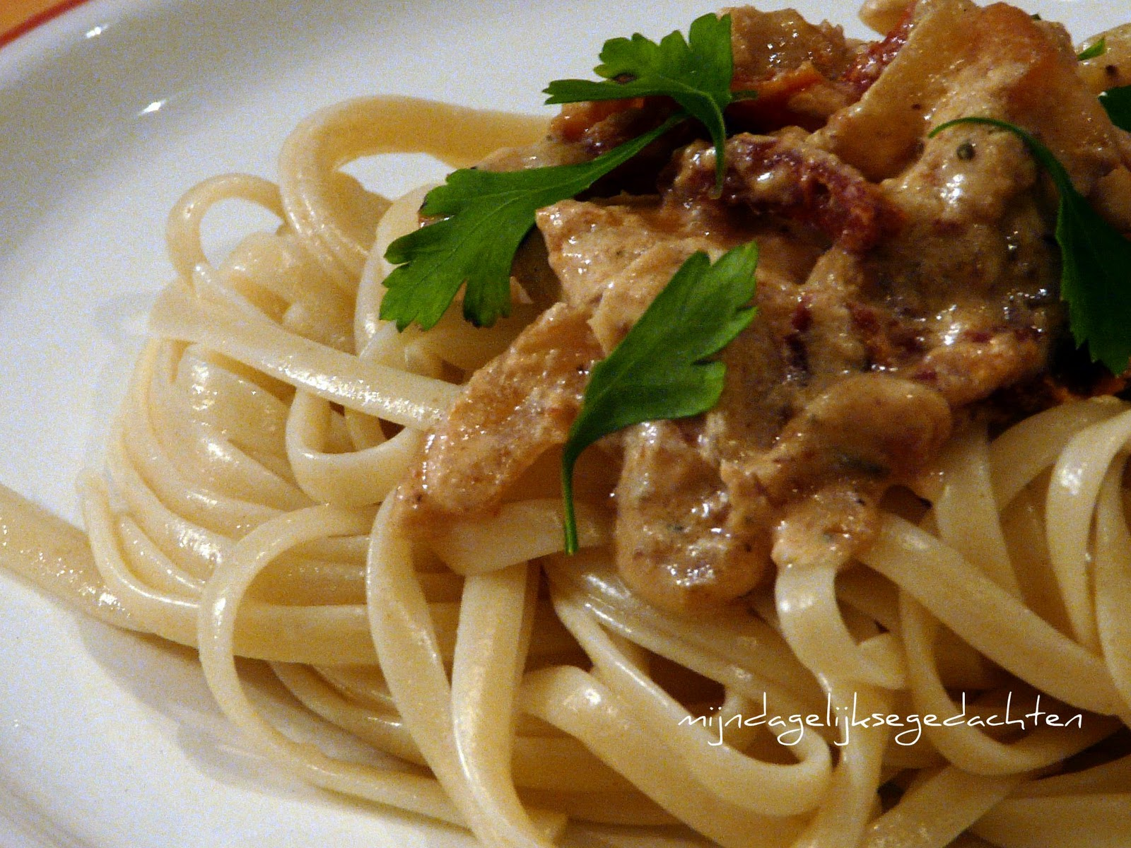 how to cook pasta with mustard oil