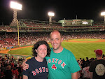 Dan and Torrey loving Fenway Park