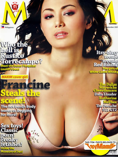 Maxim Magazine Cover Girls