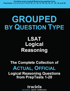 GROUPED Question Type: LSAT Logical Reasoning: The Complete Collection of Actual, Official Logical Reasoning Questions from PrepTests 1-20