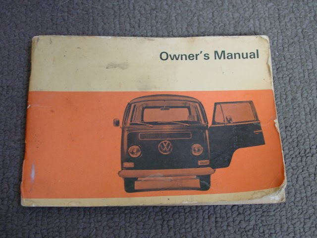 Vintage Hide Fuse Box And Vw Bus Manuals