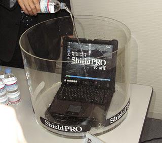 memecahkan masalah dengan laptop tahan air nec laptop tahan air