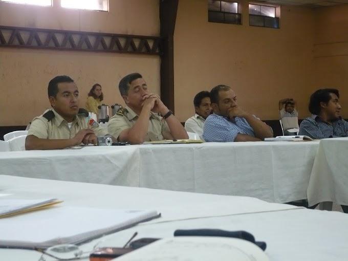 CONRED PRESENTA ESTRUCTURA COORDNADORA MUNICIPAL PARA LA REDUCCIÓN DE DESASTRES (COMRED) EN SAN JUAN SACATEPÉQUEZ MUNICIPIO DE GUATEMALA