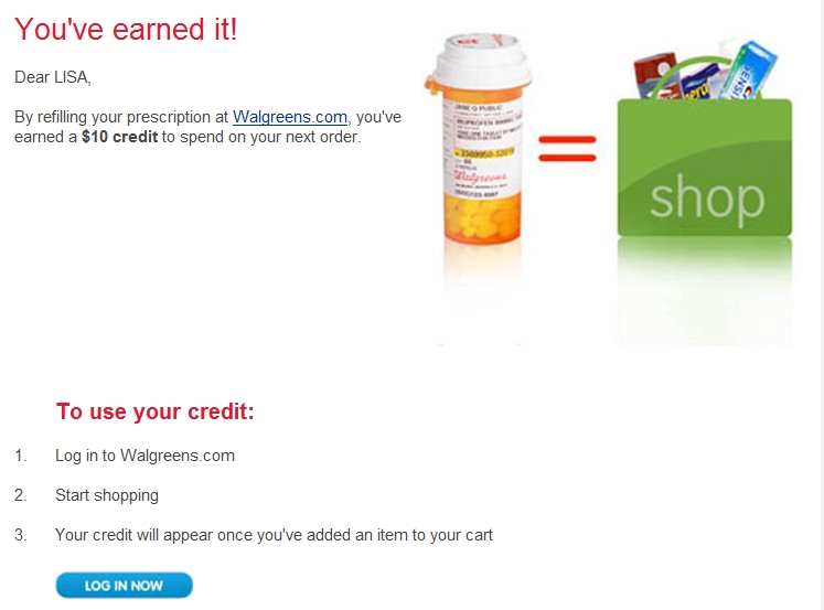 Walgreens 4 dollar generic program |.