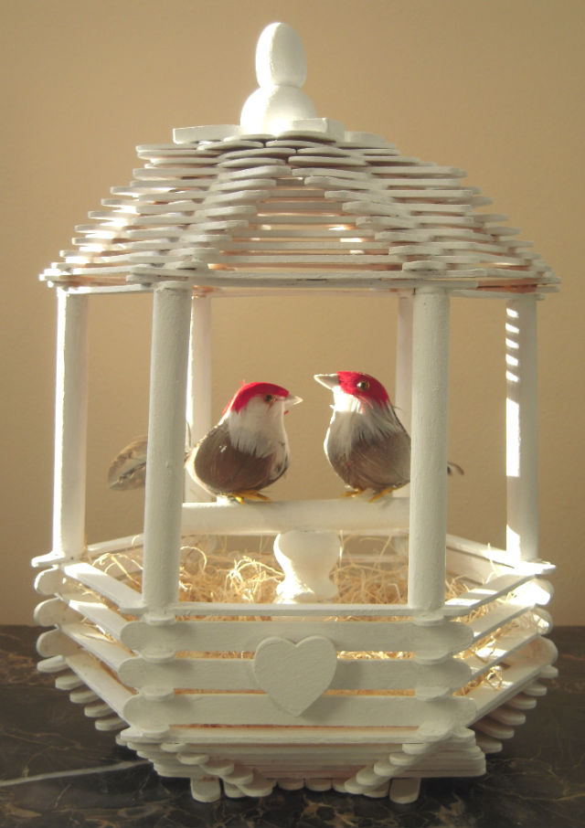 Marvelously messy love bird house love bird house ccuart Image collections