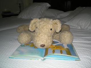 Pupe leyendo un cuento