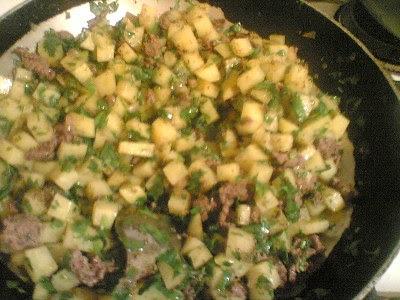 اطباق في الفرن بالبطاطس  5