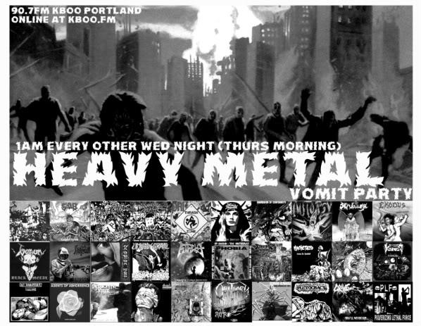 Heavy Metal Vomit Party on KBOO