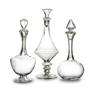 Vellum New York decanters