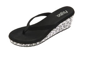 Flojos, Thousand Oaks, CA, is showing the Keira and other women's sandals at the las Vegas Souvenir and Resort Gift show