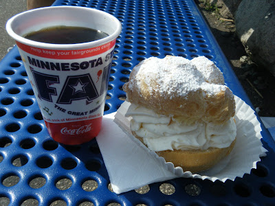 cream puff from the 2009 minnesota state fair
