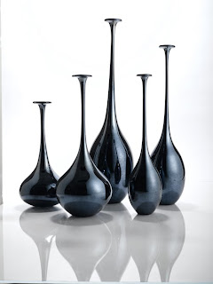 long-necked vases from Tozai Home