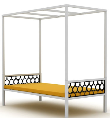 Koverton daybed and bar stool