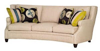 Hollister sofa from Taylor King