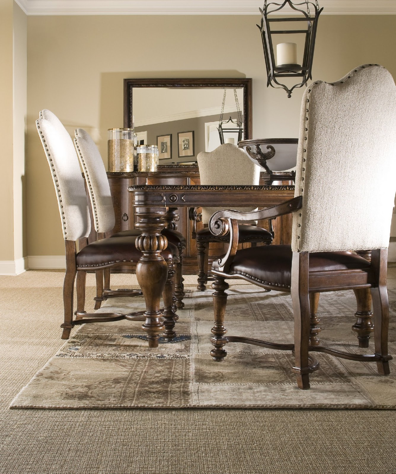 t home today dining room collection with a spanish flair