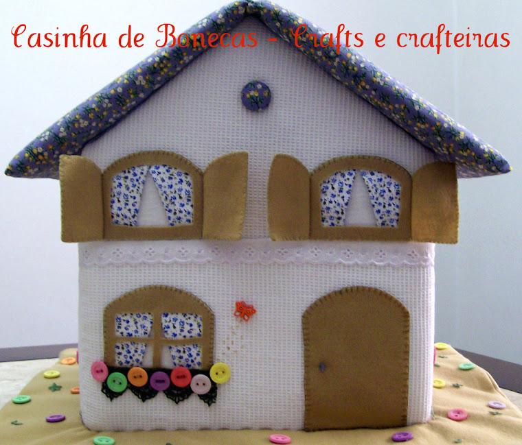 Casinha de Bonecas - Crafts e crafteiras