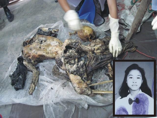 dihebohkan dengan penemuan mayat dengan kondisi tubuh tidak utuh dua
